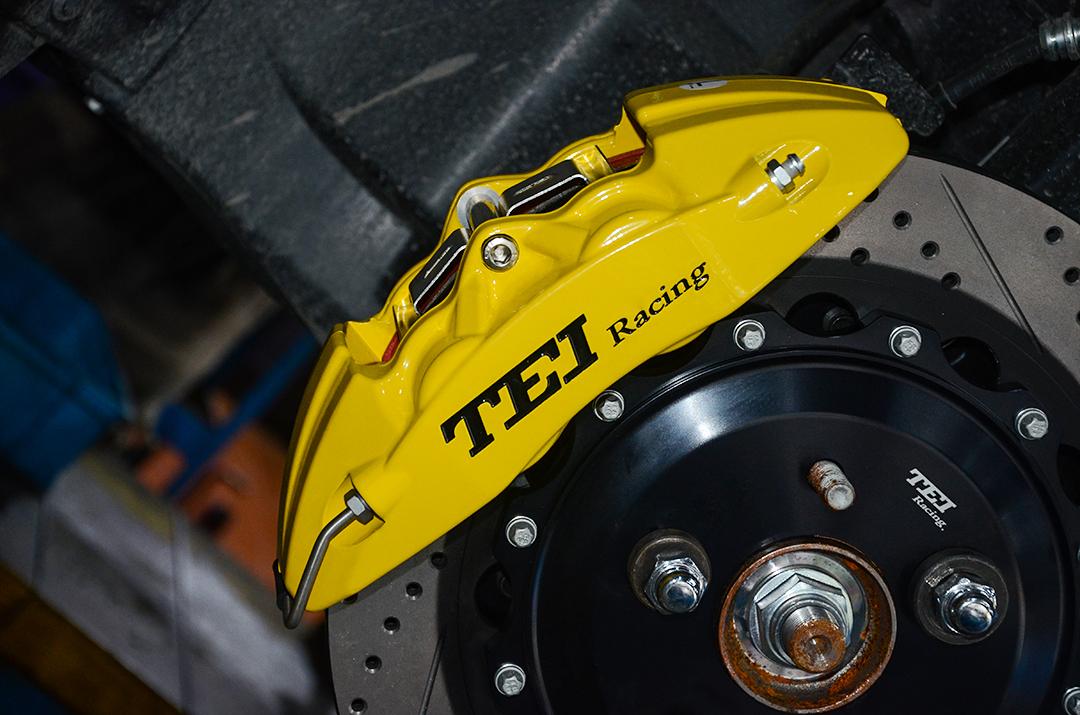 马自达昂克赛拉改装TEI Racing P40NS刹