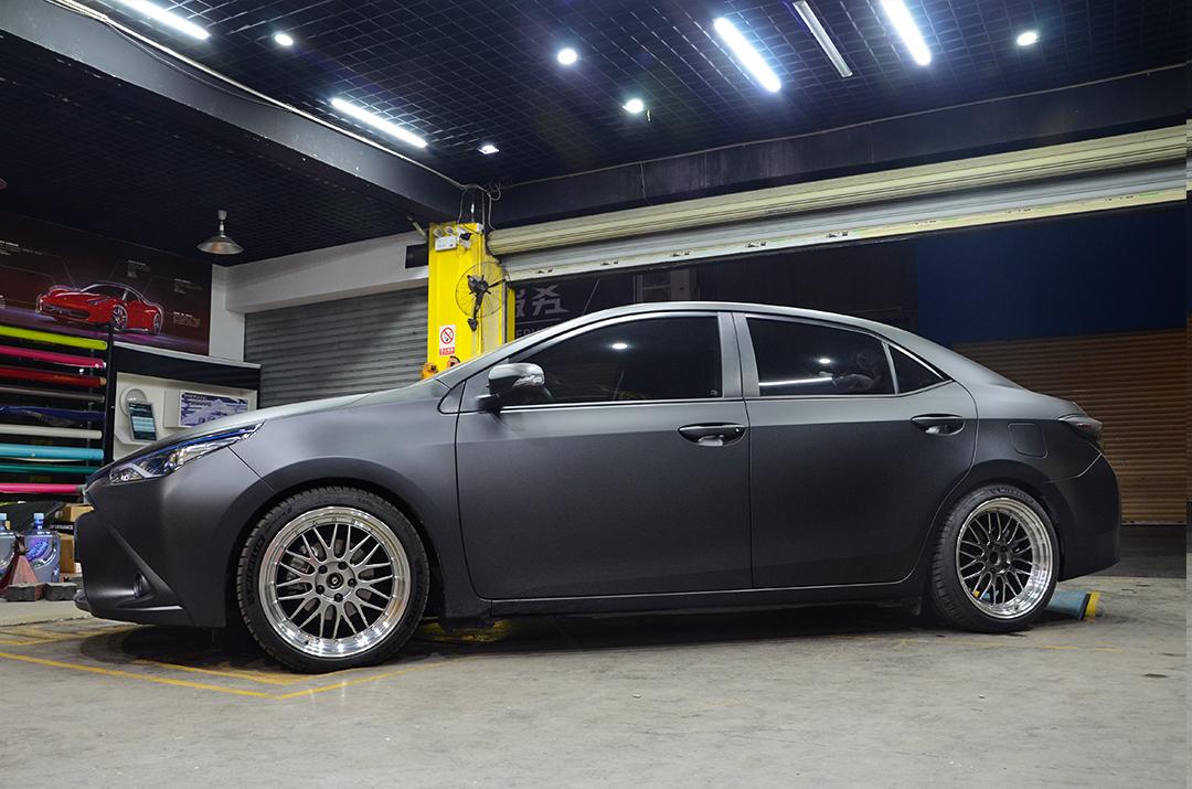 丰田雷凌改装TEI Racing高性能运动短弹簧
