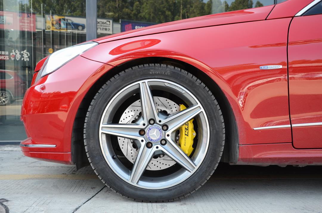 奔驰E260(W207)改装TEI Racing P40NS & P40S-R