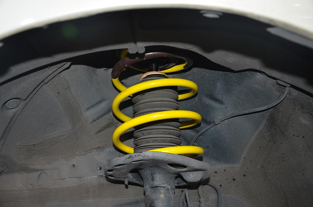 丰田卡罗拉改装TEI Racing高性能运动短簧
