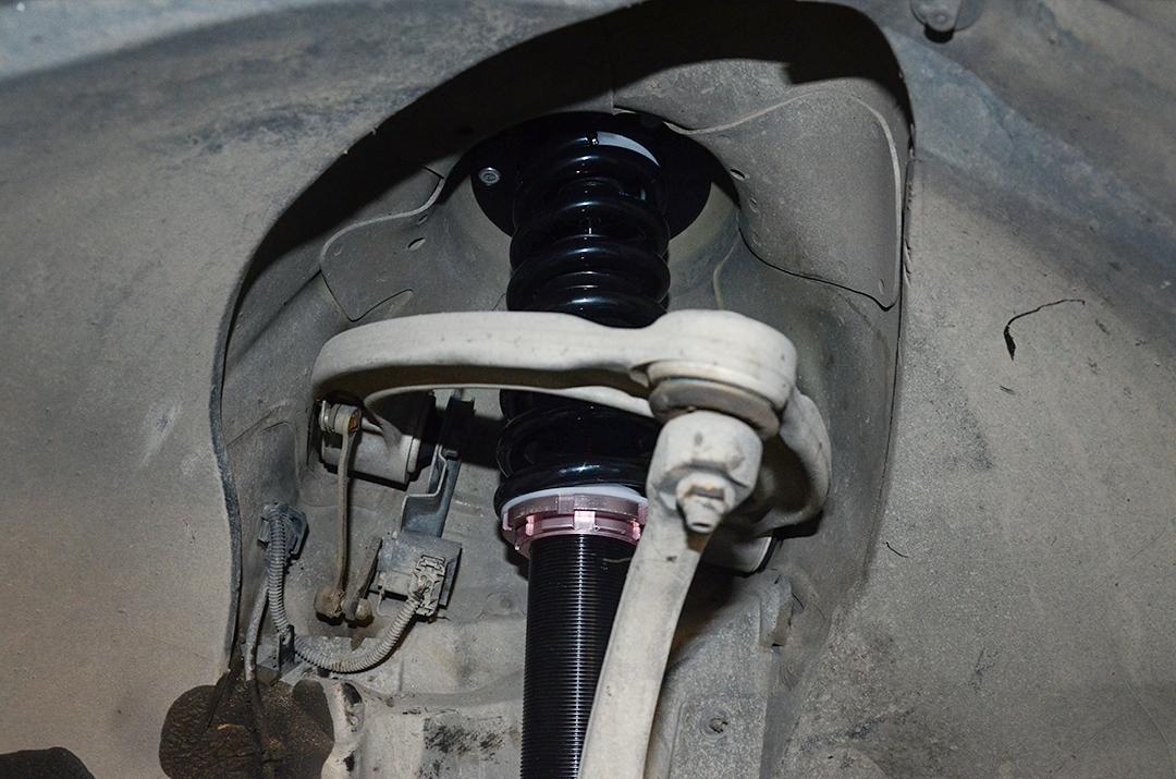 奔驰S500(W220)改装TEI Racing 街道版绞牙