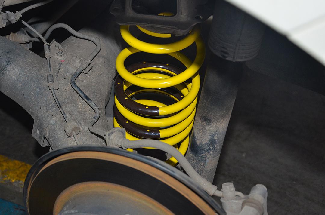丰田逸致改装TEI Racing高性能运动短弹簧