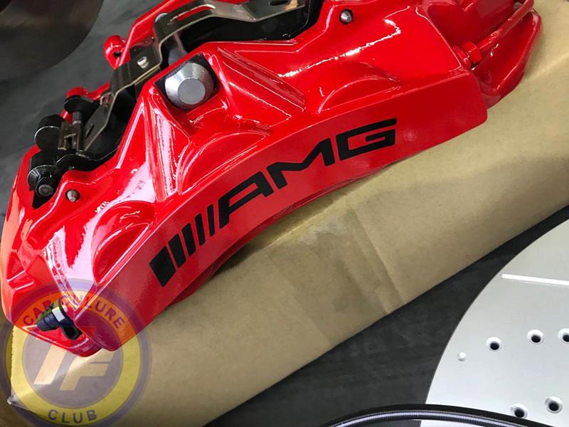 奔驰G500改装G63原厂前后刹车提升性能