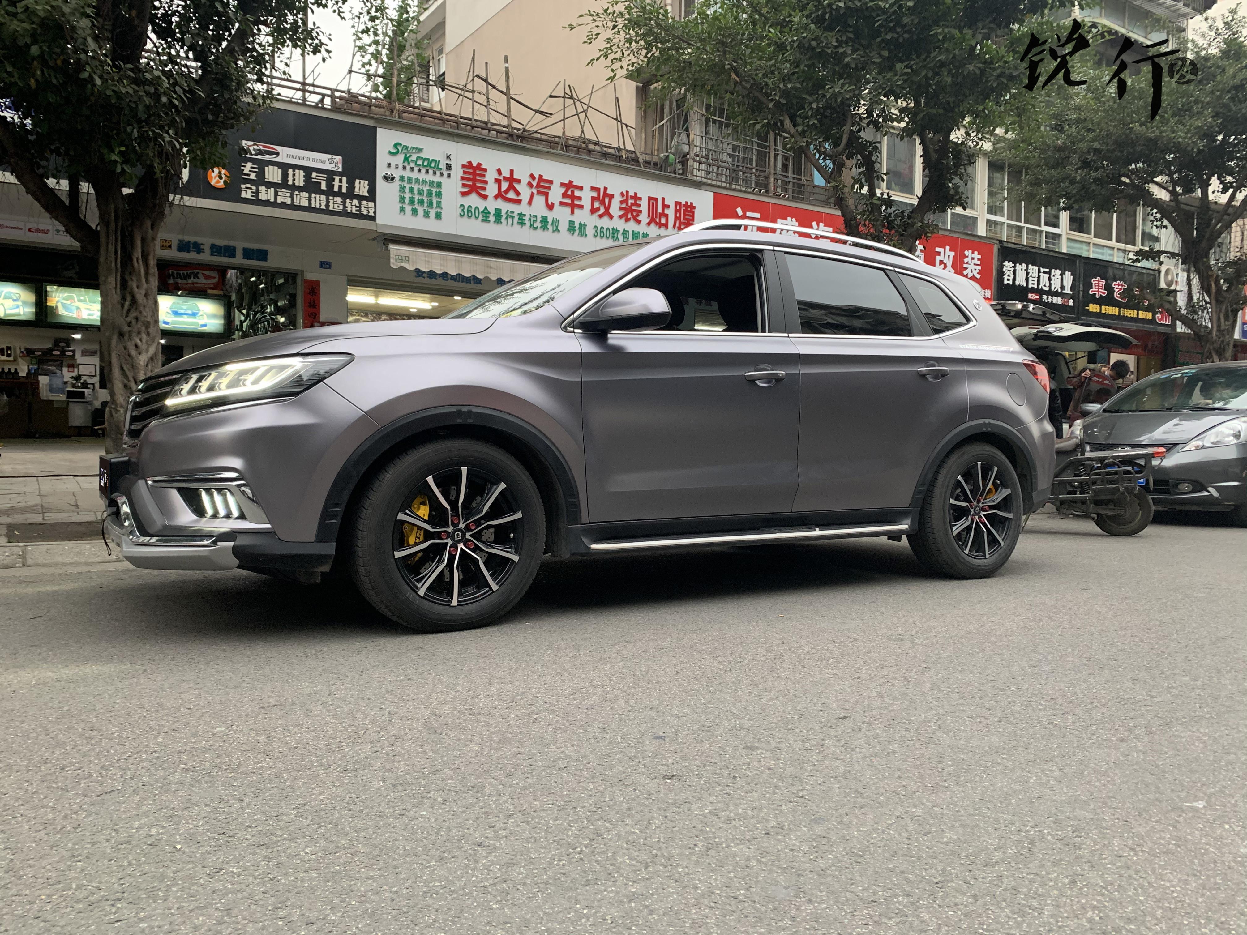 荣威RX5改装border避震器降低车身高度