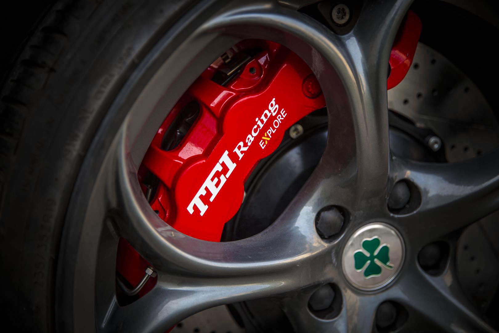 奥迪TT改装刹车案例TEI Racing S系列