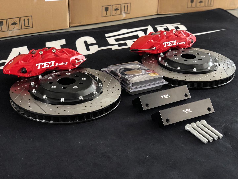 斯巴鲁傲虎改装刹车案例TEI Racing P60S