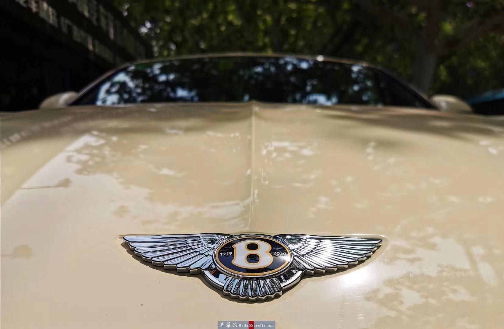 宾利欧陆GT摩卡双拼改色、个性轮毂更换