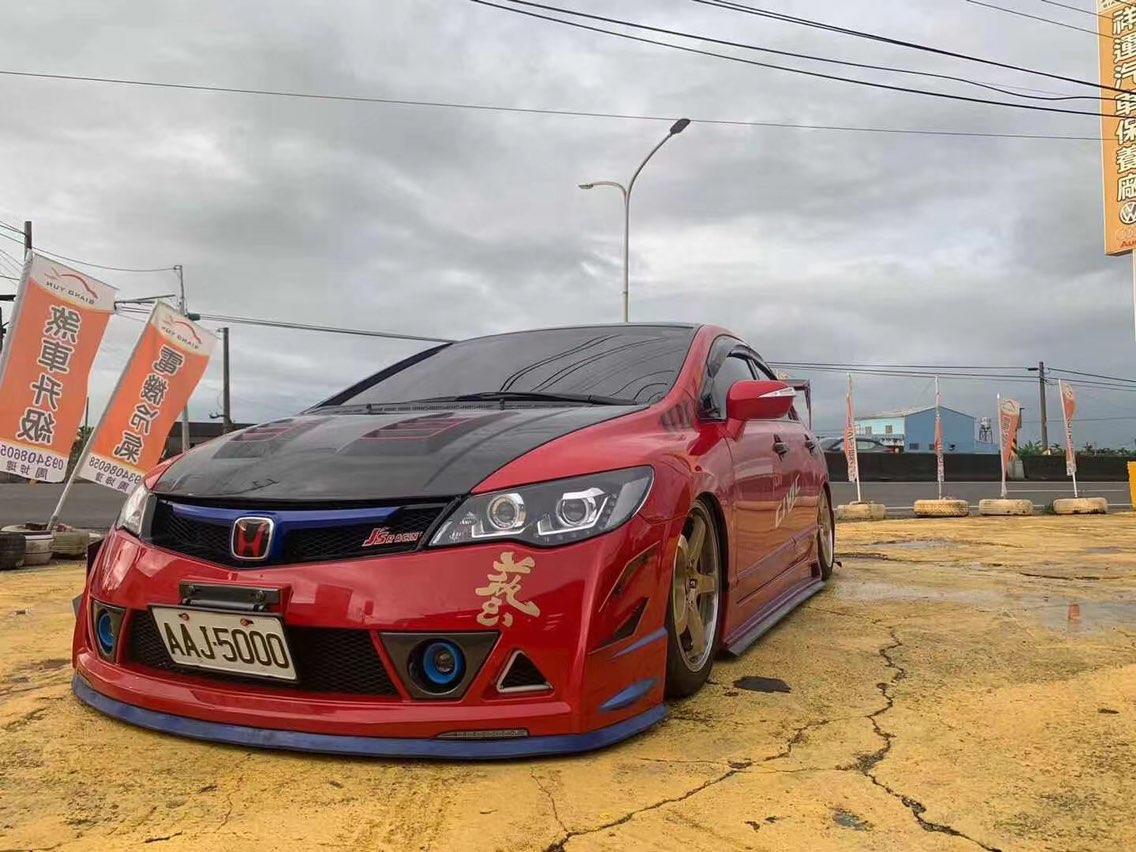 #Honda civic #Airbft