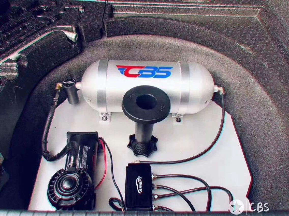 新款大众CC AIRBFT新款气动避震套件 三段记忆版本 手机APP遥控 AIRBFT静音泵