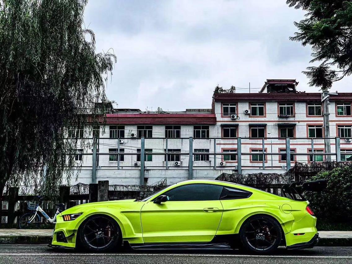 福特Mustang AIRBFT气动避震套件 三段记忆版本[色]