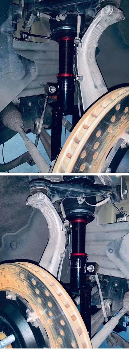 特斯拉Model3 -4驱版本 AIRBFT气动避震套件施工案例[强]