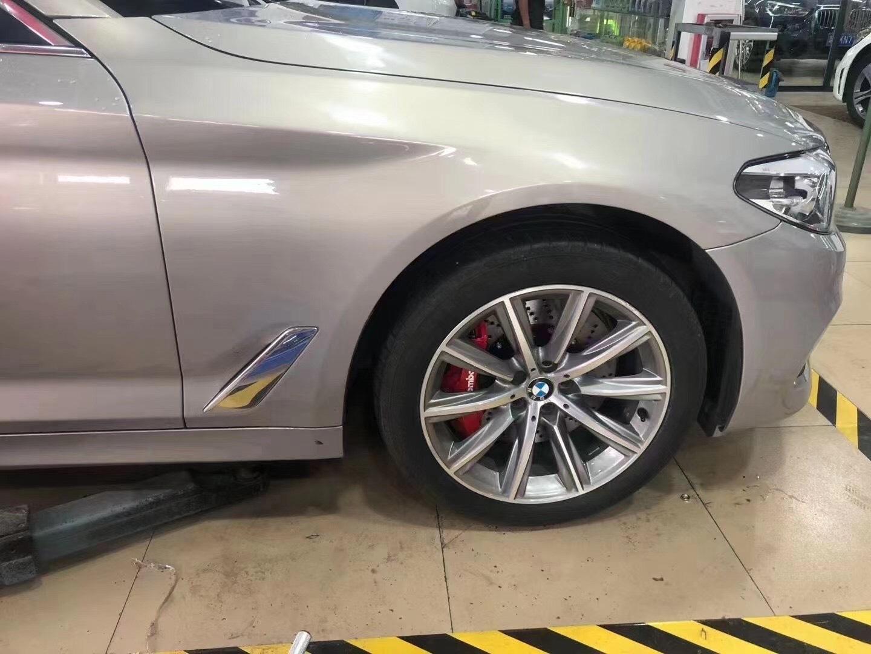 宝马5系G38刹车升级布雷博brembo GT6套件