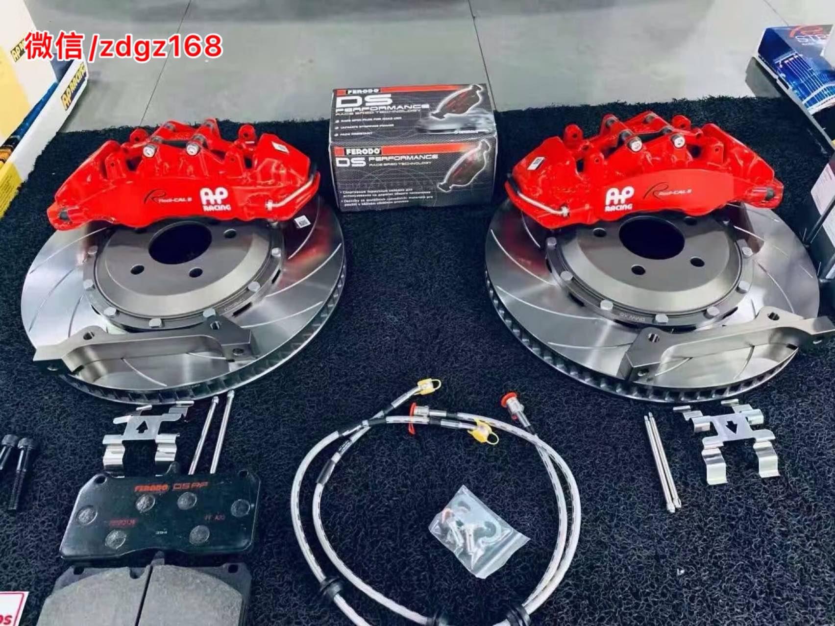 宝马X5 刹车升级前轮AP9560大六 配380划线盘 ,完美上车,效果灵敏制动!