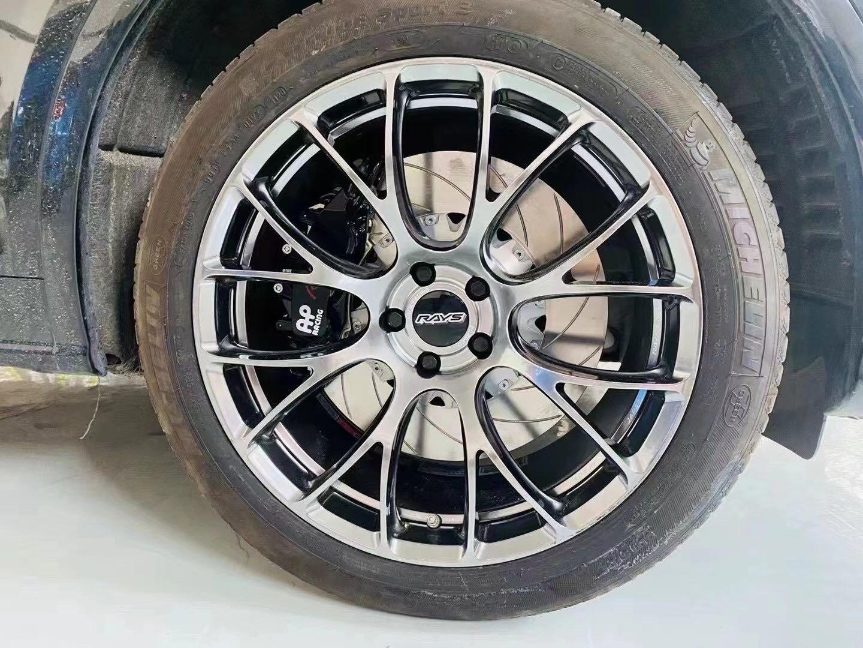 AUDI 奥迪Q5 改装Ap9561六活塞套装 RAYS G16 20寸锻造轮毂
