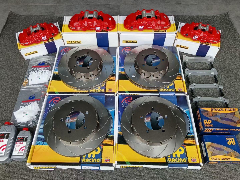 雷克萨斯LX570刹车改装Ap85前6后4卡钳套装