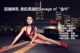 """甜胸辣乳 香肌柔腿的Savage of""""金牛"""""""