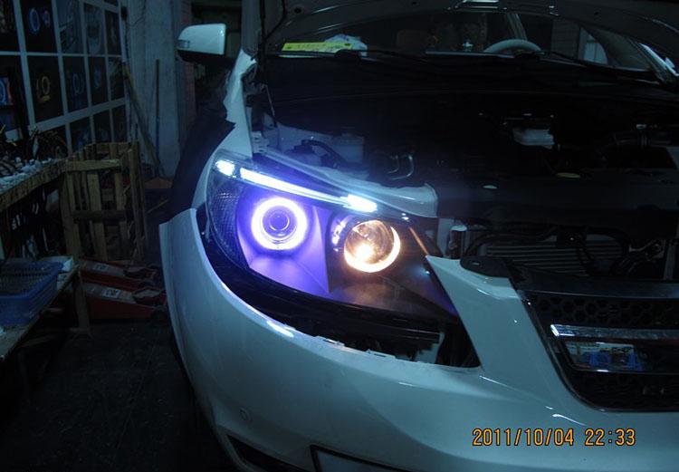 比亚迪s6大灯升级