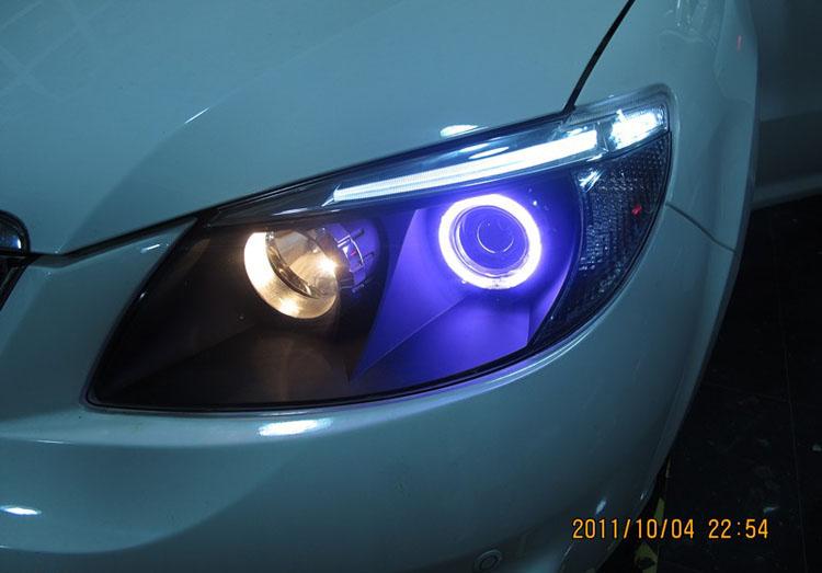 比亚迪s6大灯升级; 比亚迪灯光开关图解