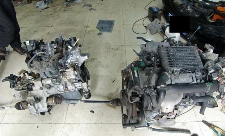 比亚迪f0改装4e-fte发动机