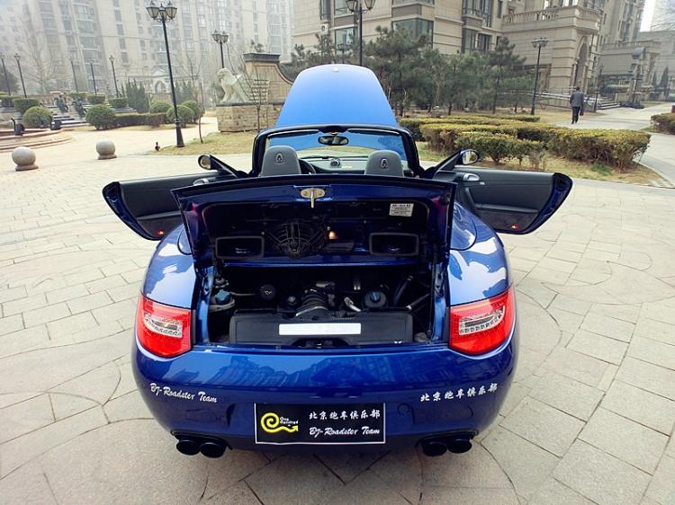 design再次改装保时捷卡宴ii[8/13]; 女友做车模 保时捷911 ksg排气