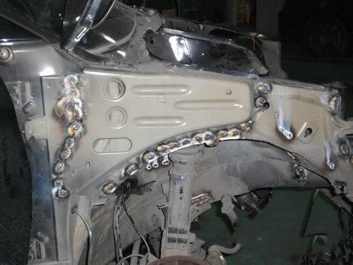 标致206移植2.0发动机高清图片