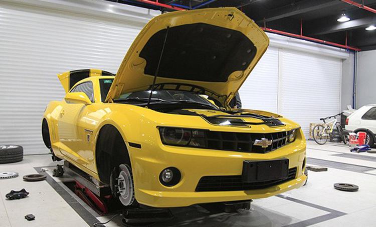 大黄蜂升级V8原装Brembo刹车套件