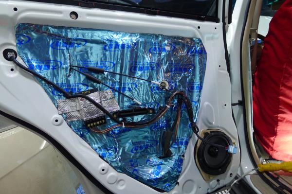 比亚迪s6音响改装美国bkell汽车音响