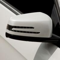 奔驰E300L贴珍珠白
