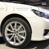 丰田锐志改装ADVICS卡钳+DIXCEL刹车碟、刹车皮