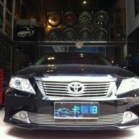 凯美瑞升级台湾XYZ避震美国FOOSE18寸轮毂