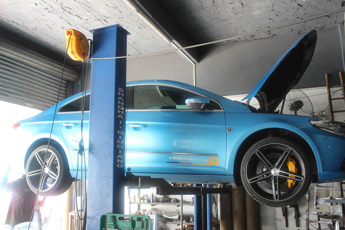 大众cc可变阀门跑车音排气管改装