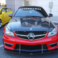 2014SEMA:红黑配 奔驰C63改装作品