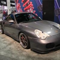 2014SEMA:保时捷911 turbo低调不低份