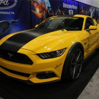 2014SEMA:5.0公升猛兽 福特Mustang