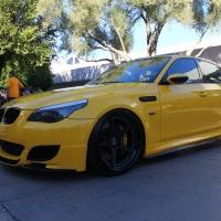 2014SEMA:霸气横流的BMW 5系海外改装
