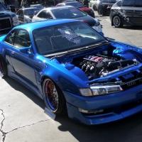 """2014SEMA:暴走的V8""""飞鸡""""S14"""