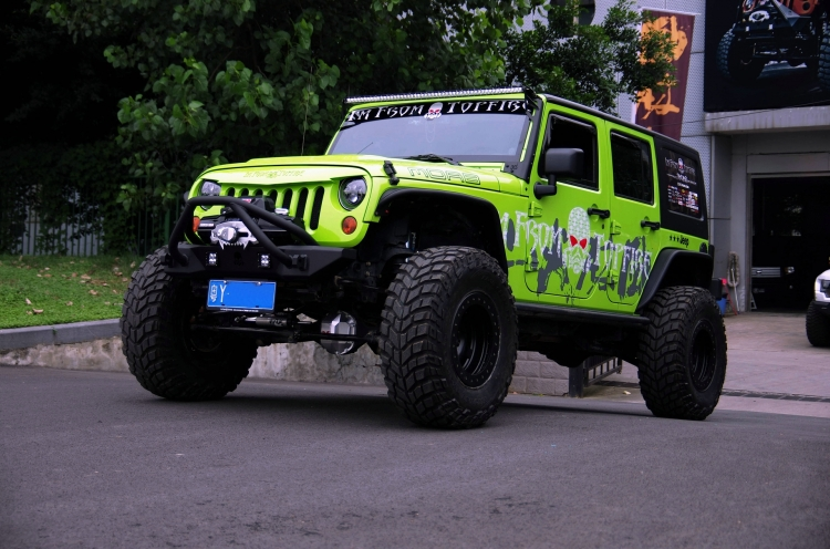Jeep牧马人MOAB版 TOPFIRE4寸长臂升高高清图片