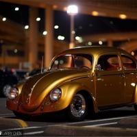 啤酒金涂装  1956款VW Beatle现身东京