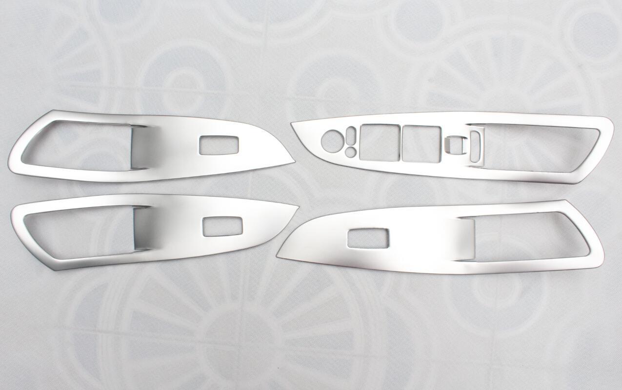 14款奔腾b70不锈钢升窗饰板高清图片
