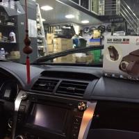 新凯美瑞混合动力安装黑剑5900行车记录仪