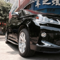 雷克萨斯RX270改装台湾BC锻造轮毂