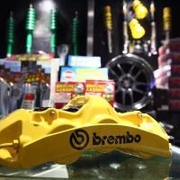 意大利brembo專業制動剎車 采用一體成型 具有高強度 密封性佳 同時增加了活塞工作的穩定 使用者帶來強大制動力的同時也兼顧性能表現☝️