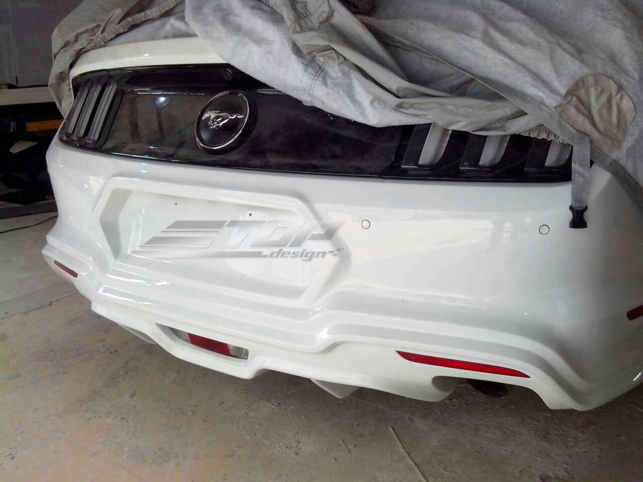 福特野马GT500 改装GAS宽体碳纤维大包围高清图片