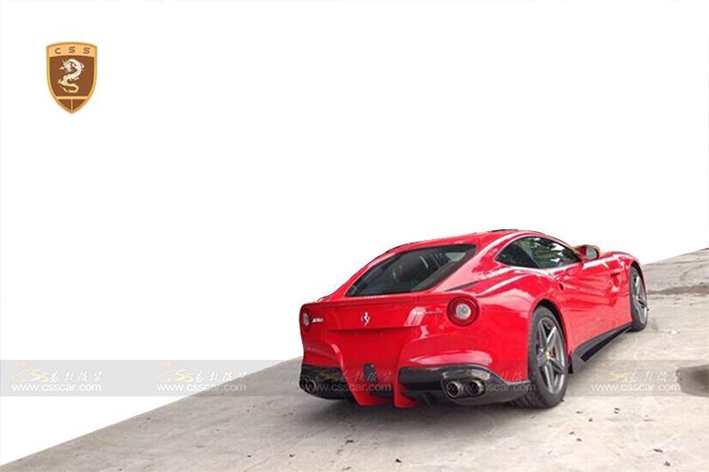 法拉利F12改装REVO大包围高清图片