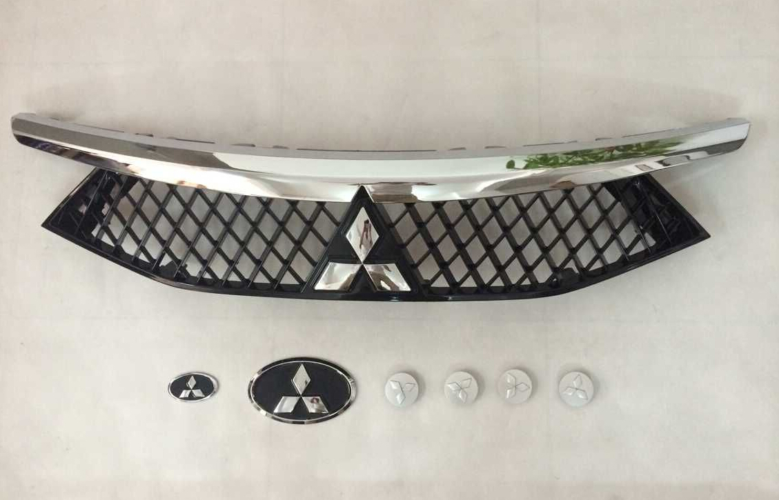 东南 dx7改装 三菱标中网 dx7汽车改装中网 改高清图片