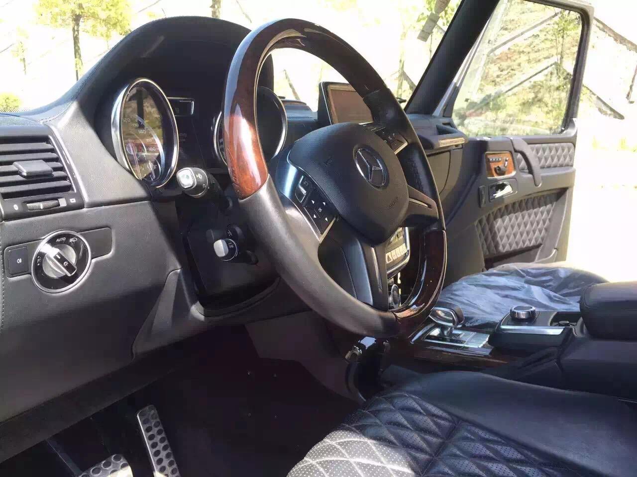 2014年准新奔驰G63 AMG越野之王 90万出高清图片