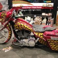 中华带你逛美国SEMA之摩托车改装