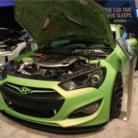 现代SEMA推出劳恩斯Coupe Tjin 车型