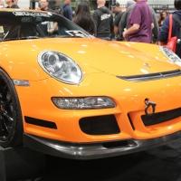 橙色风暴 保时捷GT3变身RS版本惊艳SEMA