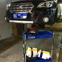 斯巴鲁傲虎升级AP5200刹车套件